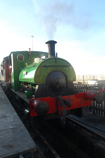 Steam train journey.