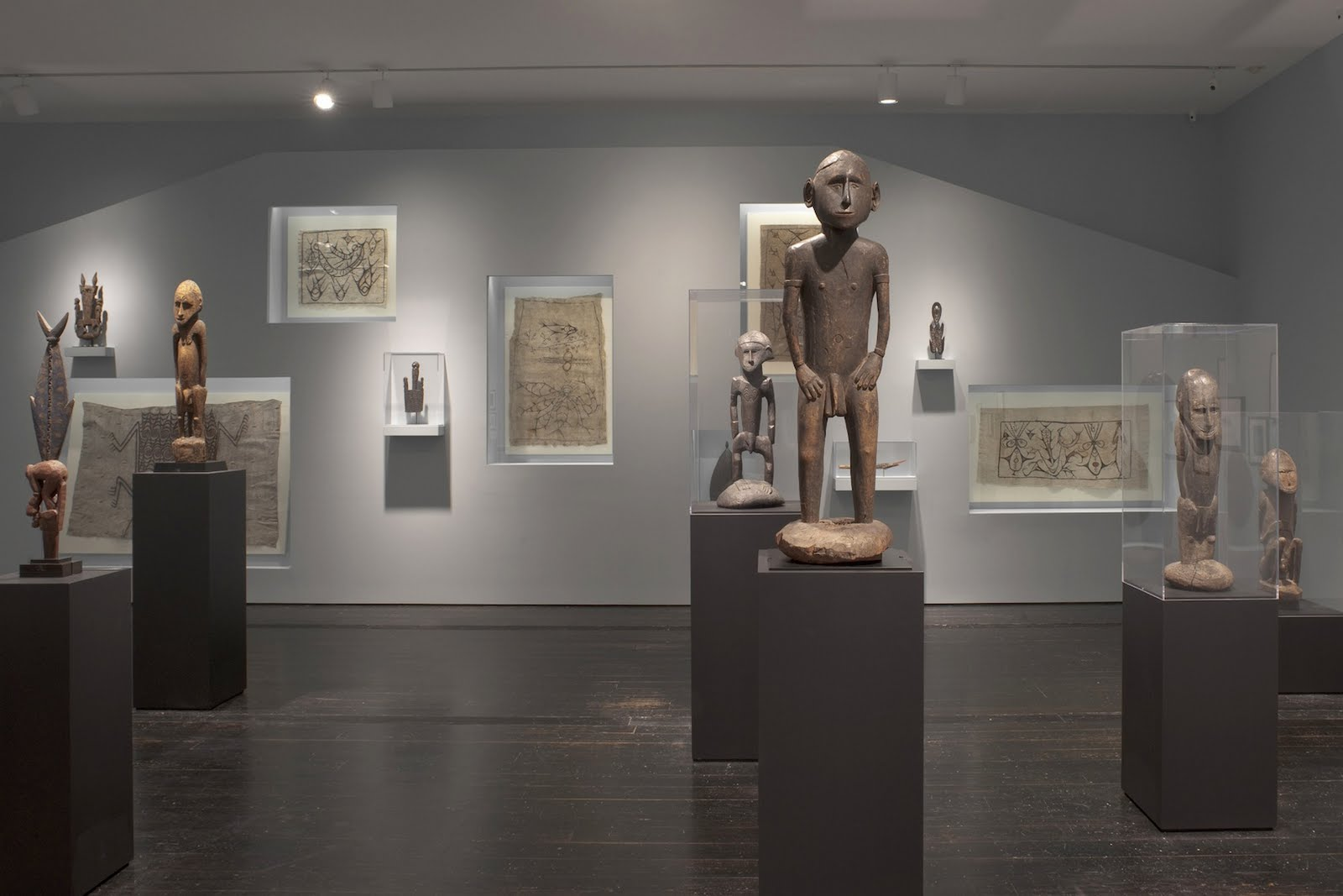 the tribal beat  oceanic art exhibit at the menil collection