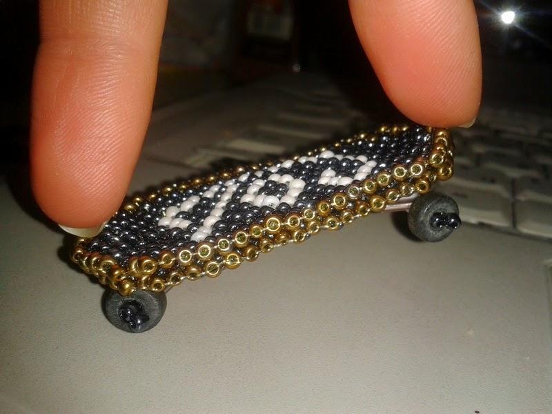 скейтборд из бисера (схема и