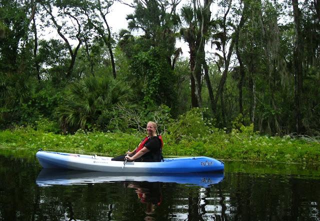 Wekiva River Monkeys Paddling The Wekiva River on a