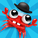 Mr. Crab App iTunes App Icon Logo By Illusion Labs - FreeApps.ws