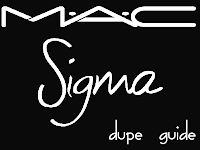 MAC vs. Sigma Brushes Dupe Guide