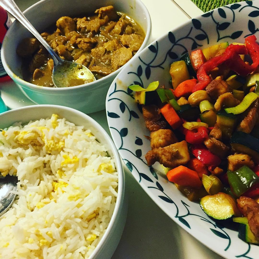 La cocina de cris arroz frito estilo chino para acompa ar for Wok cuatro cocinas granollers