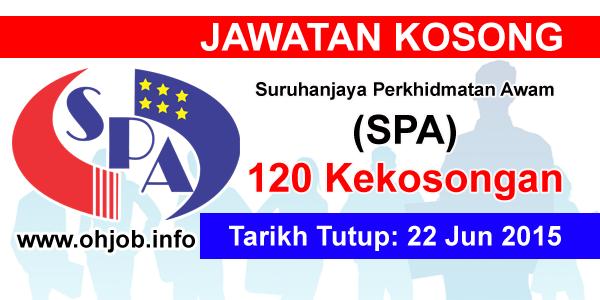 Jawatan Kerja Kosong Suruhanjaya Perkhidmatan Awam (SPA) logo www.ohjob.info jun 2015