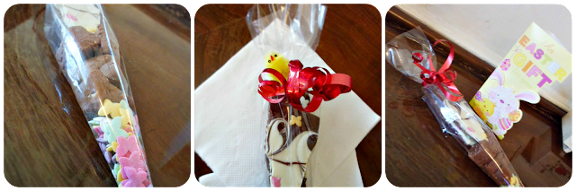 Homemade Easter Treats Cone Gift.