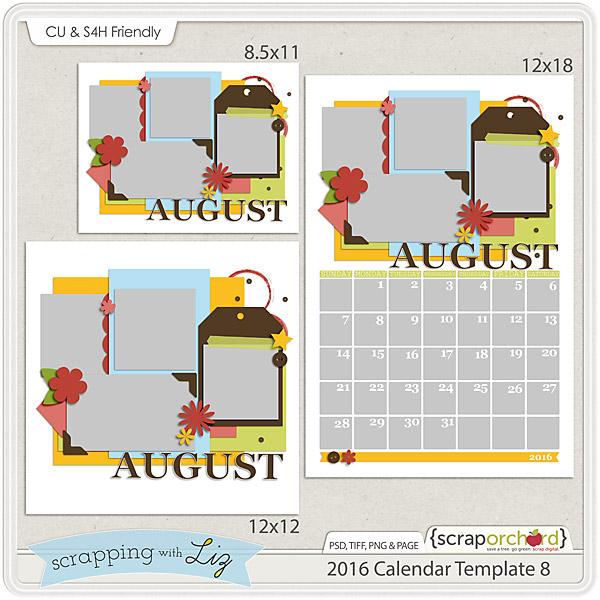 http://scraporchard.com/market/2016-Calendar-8-Digital-Scrapbook-Templates.html