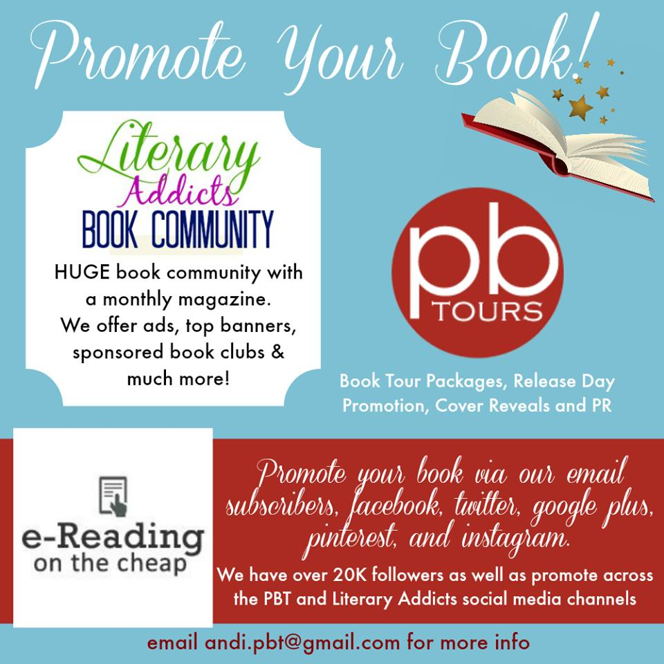 Promote your book to thousands of readers!