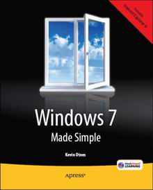 "Cover of ""Windows 7 Made Simple"""