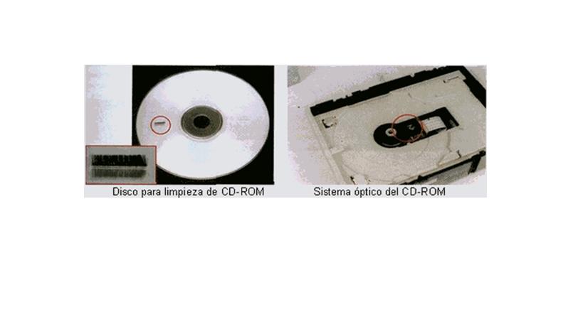 limpiar cd rom: