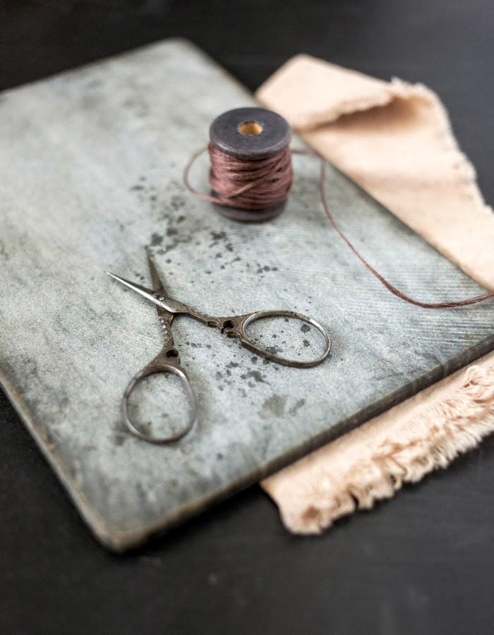 old vintage scissors