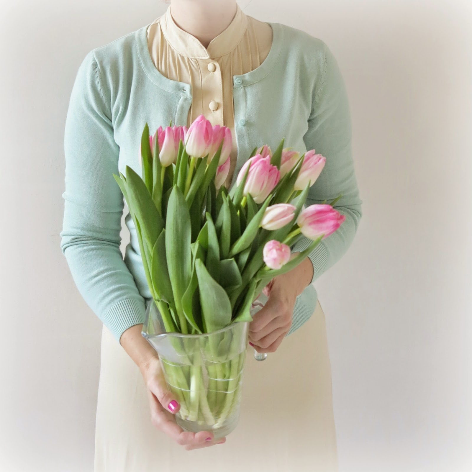 byHaafner, pastel, tulips
