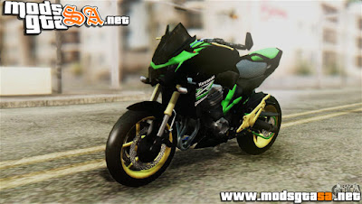SA - Kawasaki Z800 Modified