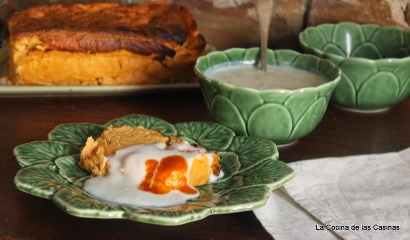 La cocina de las casinas pastel de cocido con bechamel y - Bechamel con nata para cocinar ...