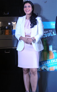 Kajol launching a new whirlpool product