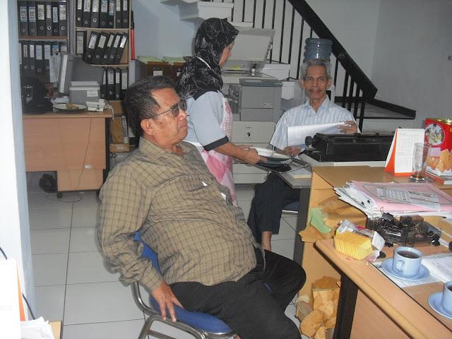 Kunjungan Kerja ke BAMUIS BNI