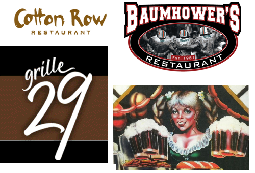 A few of the Huntsville Restaurant Week Participants