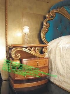 Mebel jepara mebel jati jepara mebel jati ukiran jepara nakas jati ukir klasik cat duco classic furniture jati jepara code NKSJ 159 NAKAS KLASIK VEENER JEPARA