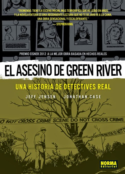 el asesino de green river comic