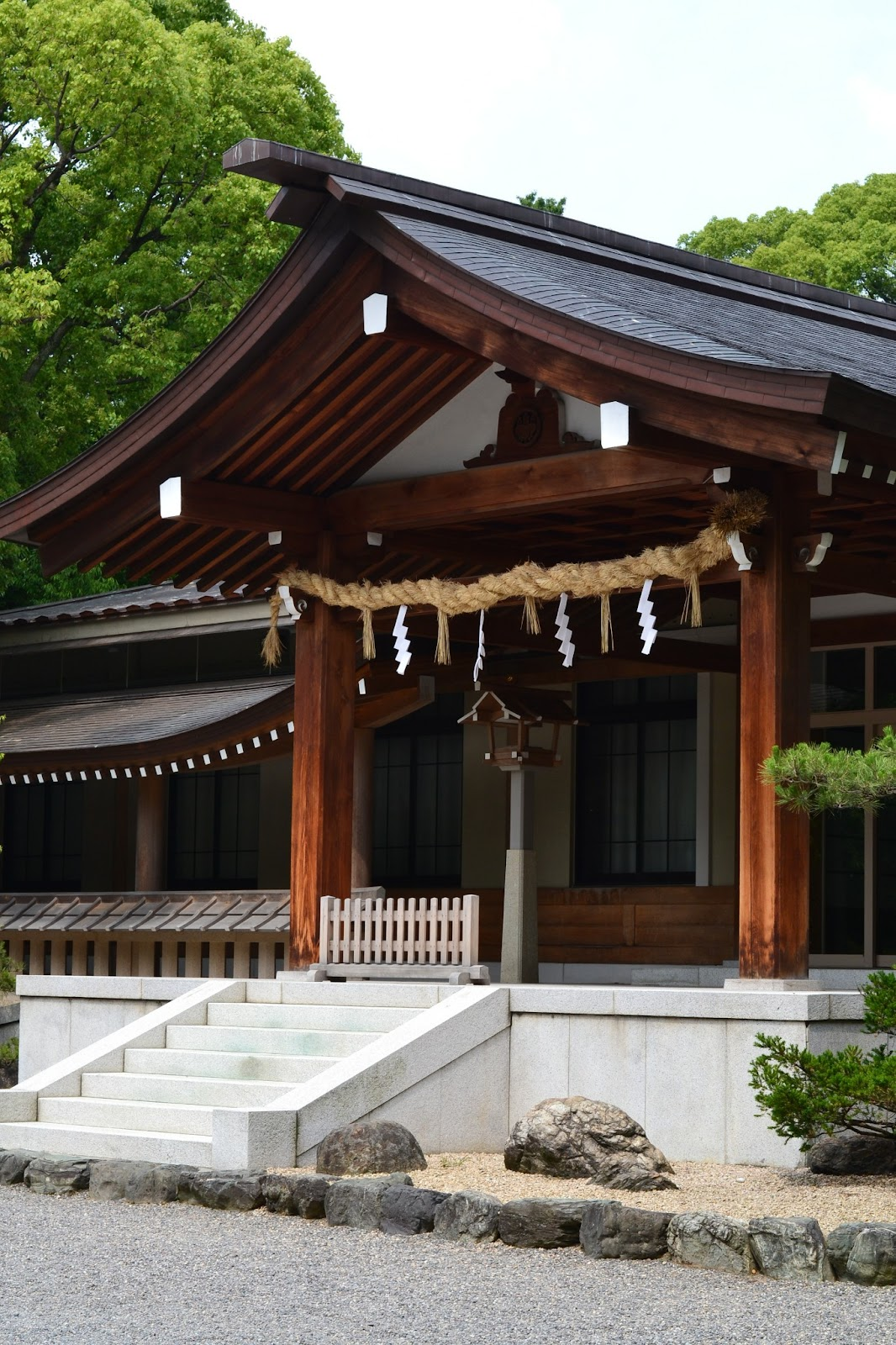 Victoria In Japan Land: Atsuta Shrine: The Main Shrine