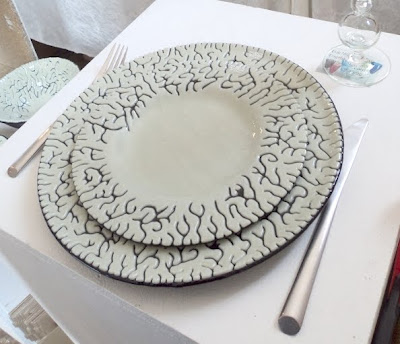 Beautiful glass dinnerplates