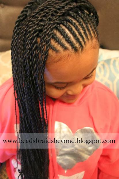 beads braids and cornrows