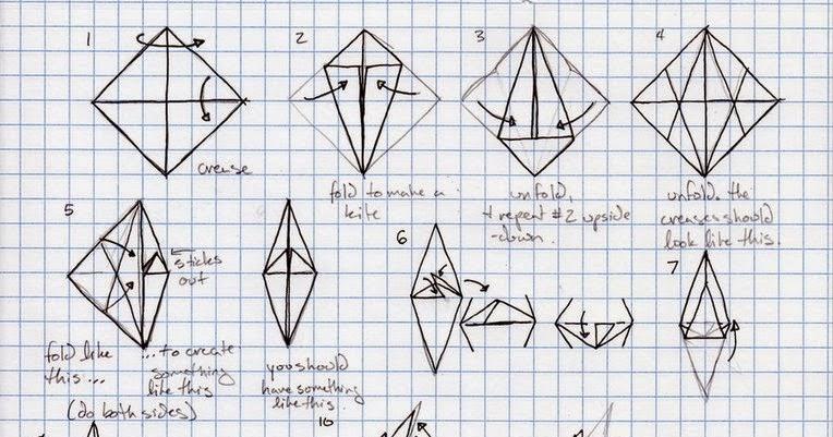Origami Dragon Instructions Printable 7994369 Es Youlandfo