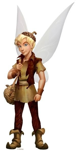 Terence  the Pixie Dust Fairy  er   Sparrowman Tinkerbell And Terence