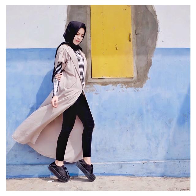 40 Inspirasi Desain Busana Muslim Remaja Terbaru 2018