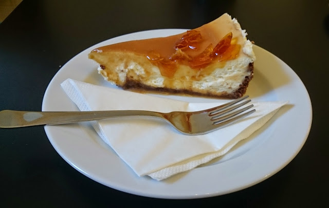 Cheesecake v bistru Savec