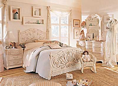 Decorar el dormitorio con estilo cl sico habitaciones de for Victorian bedrooms images