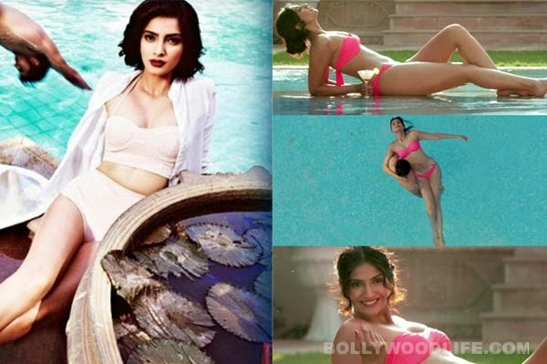 sonam kapoor hot erotic bold sensuous videos topless braless bikini pictures