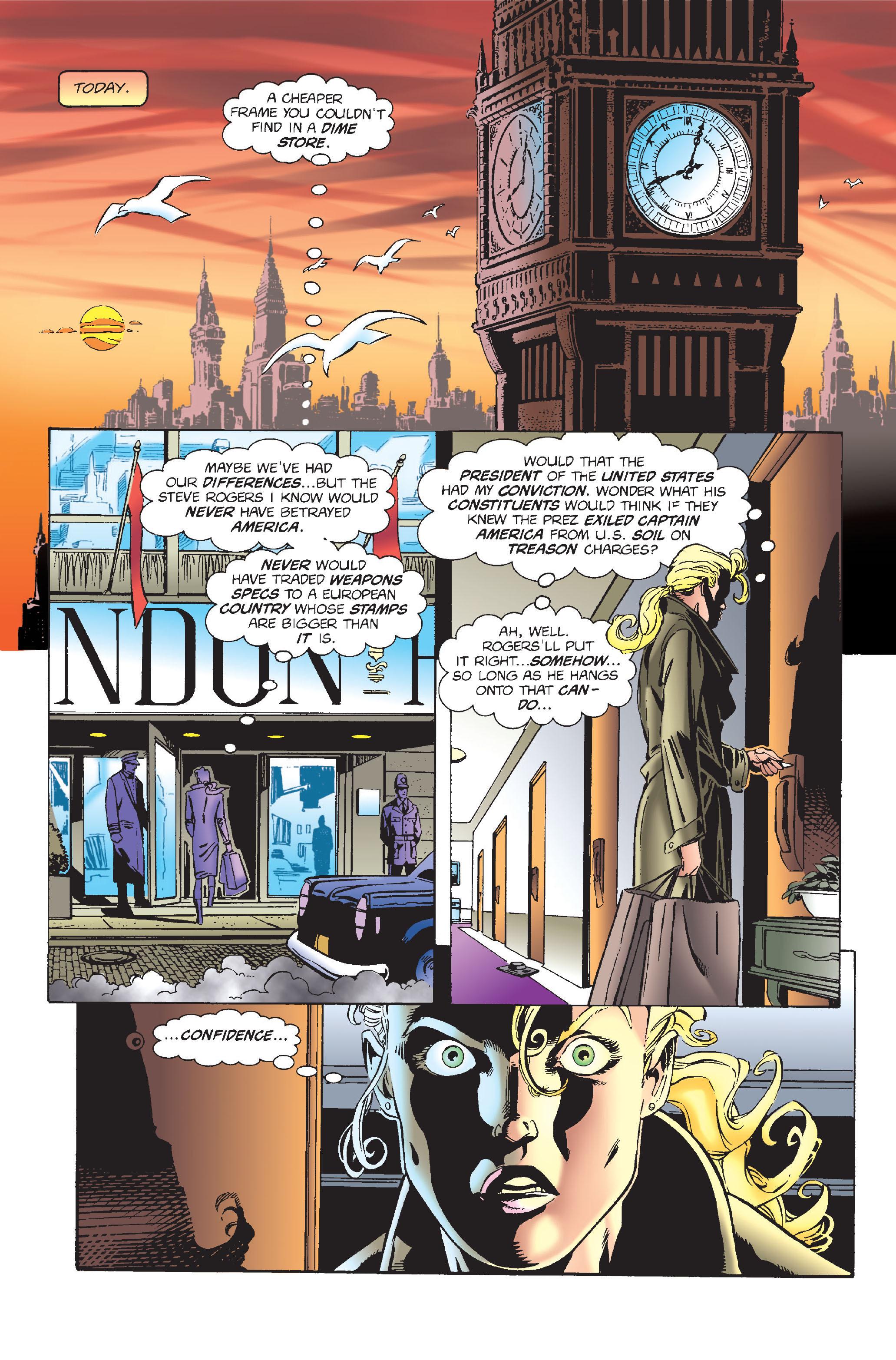 Captain America (1968) Issue #451 #408 - English 3