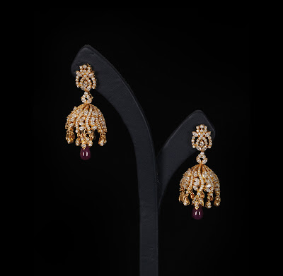 Latest diamond earrings