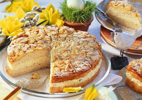 Bienenstich Cake Mixture