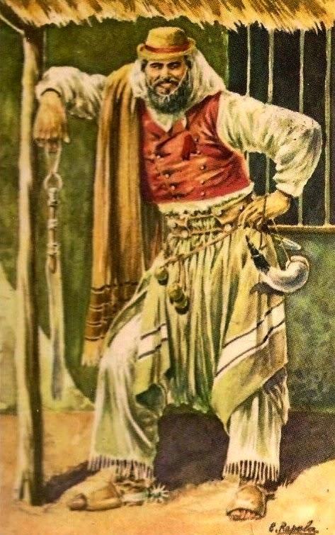 Gaucho de Buenos Aires, 1850
