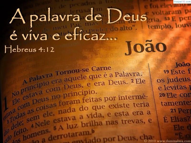 Jesus Cristo é a própria Palavra de Deus encarnada.