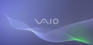 Blue VAIO Wallpaper 1600 x 900