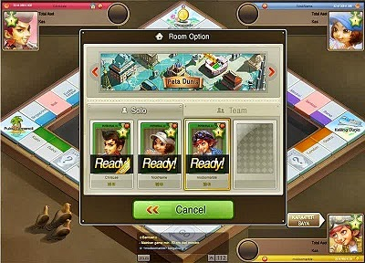 Game LINE Let's Get Rich di PC