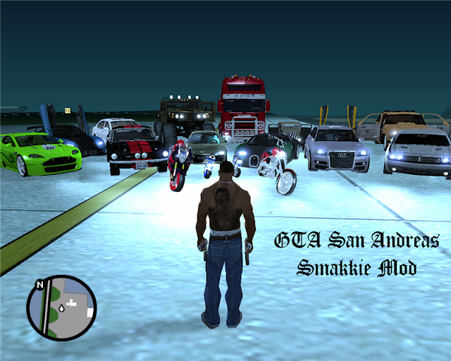 GTA Sanandreas New Cars, Bike, Helicopters, Buildings, Planes Mod