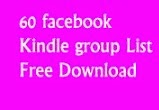 60 facebook Kindle Group List