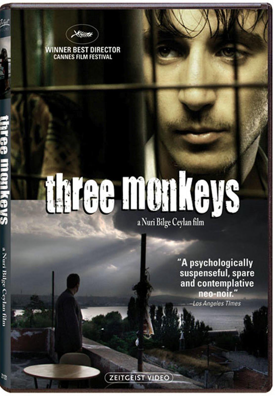 Three Monkeys Dvd Case Box