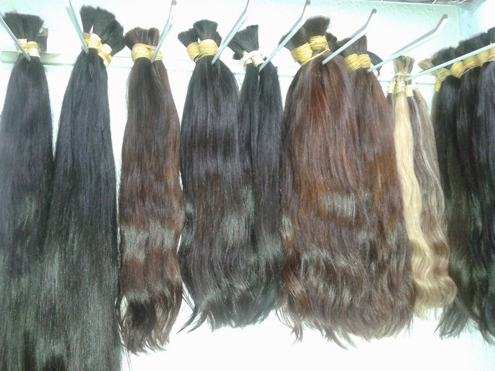 cabelos humano. .