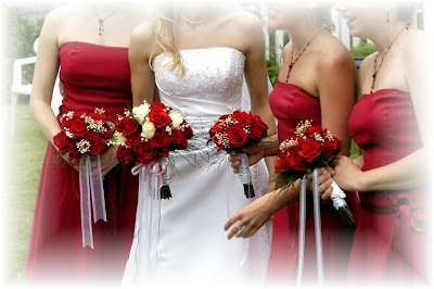Silk Wedding Flower Bouquets Image