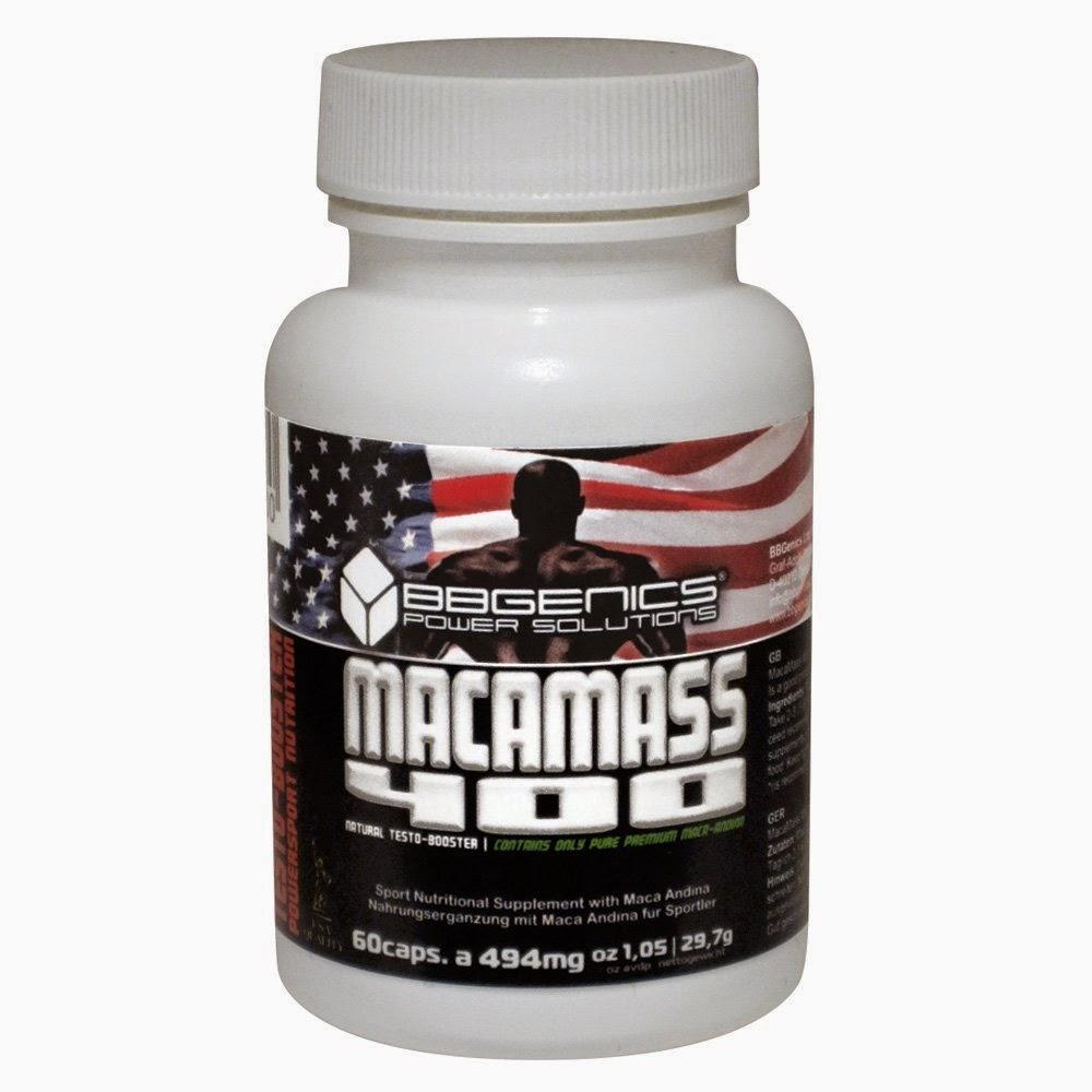 Macamass, per la tua crescita muscolare