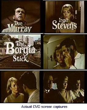 CLICK photo below to order The Borgia Stick (1967) DVD $7.99