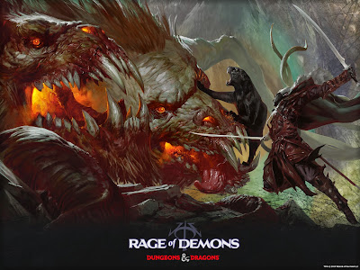 D&D Out of the Abyss, Rage of Demons