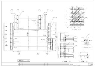 仮設計画図 断面図