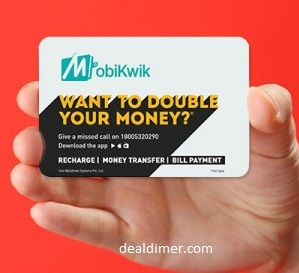 MobiKwik Wallet Rs. 50 Cashback on Adding Rs. 50