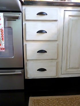 7. How to Distress Kitchen Cabinets