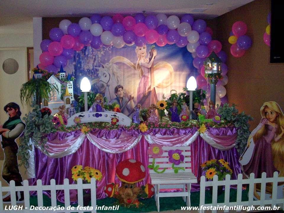 tema Os Enrolados para festa de aniversário infantil realizado na Barra da Tijuca - Rio de Janeiro RJ